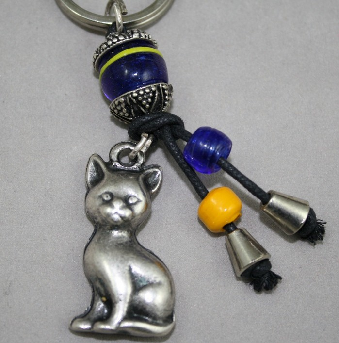 Cat key ring
