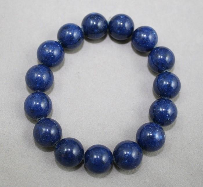 Blue gemstones bracelet