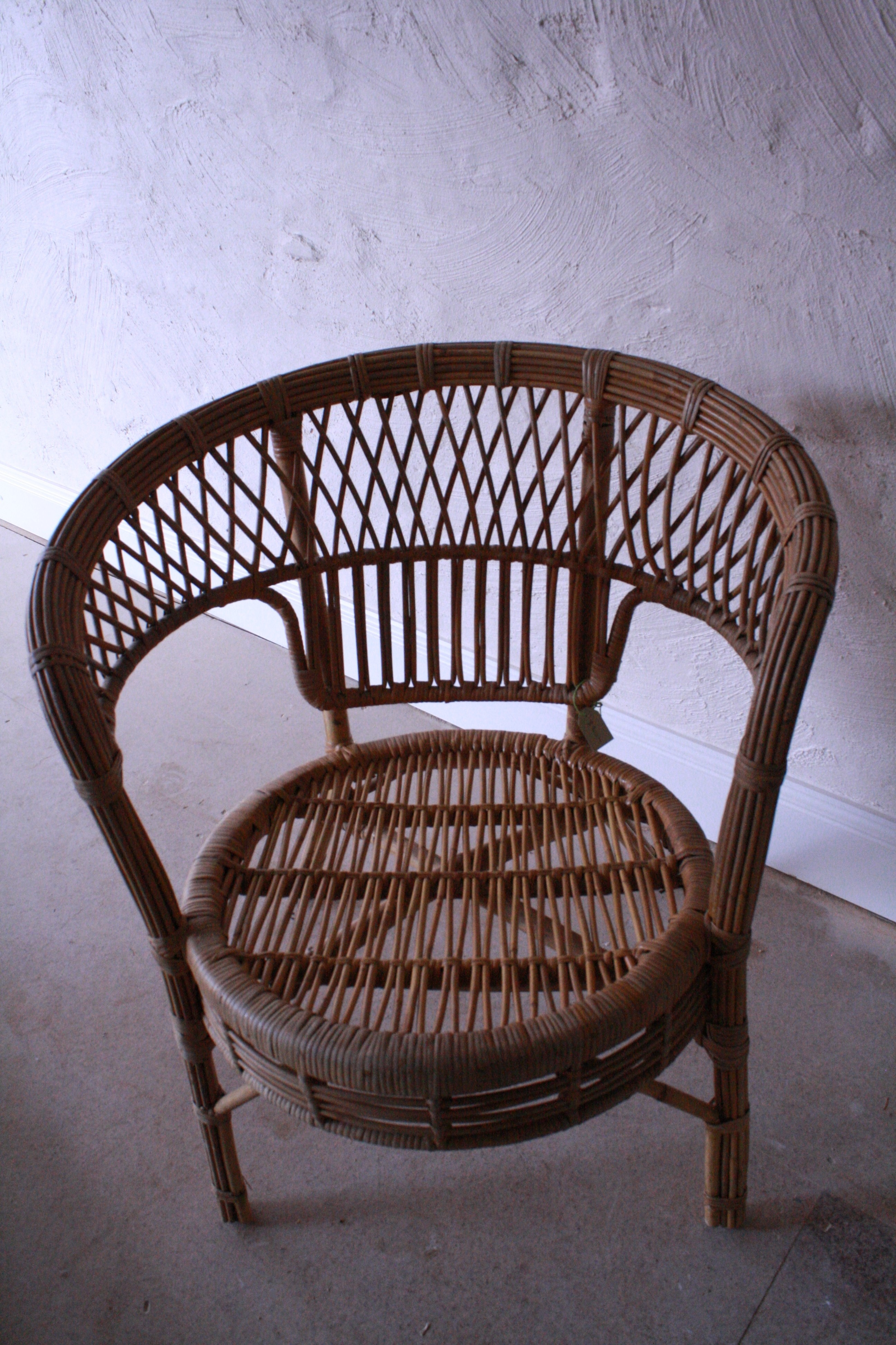 Antique Cane Chair
