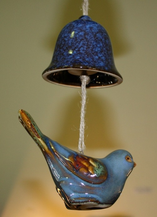 Ceramic Bird Chime