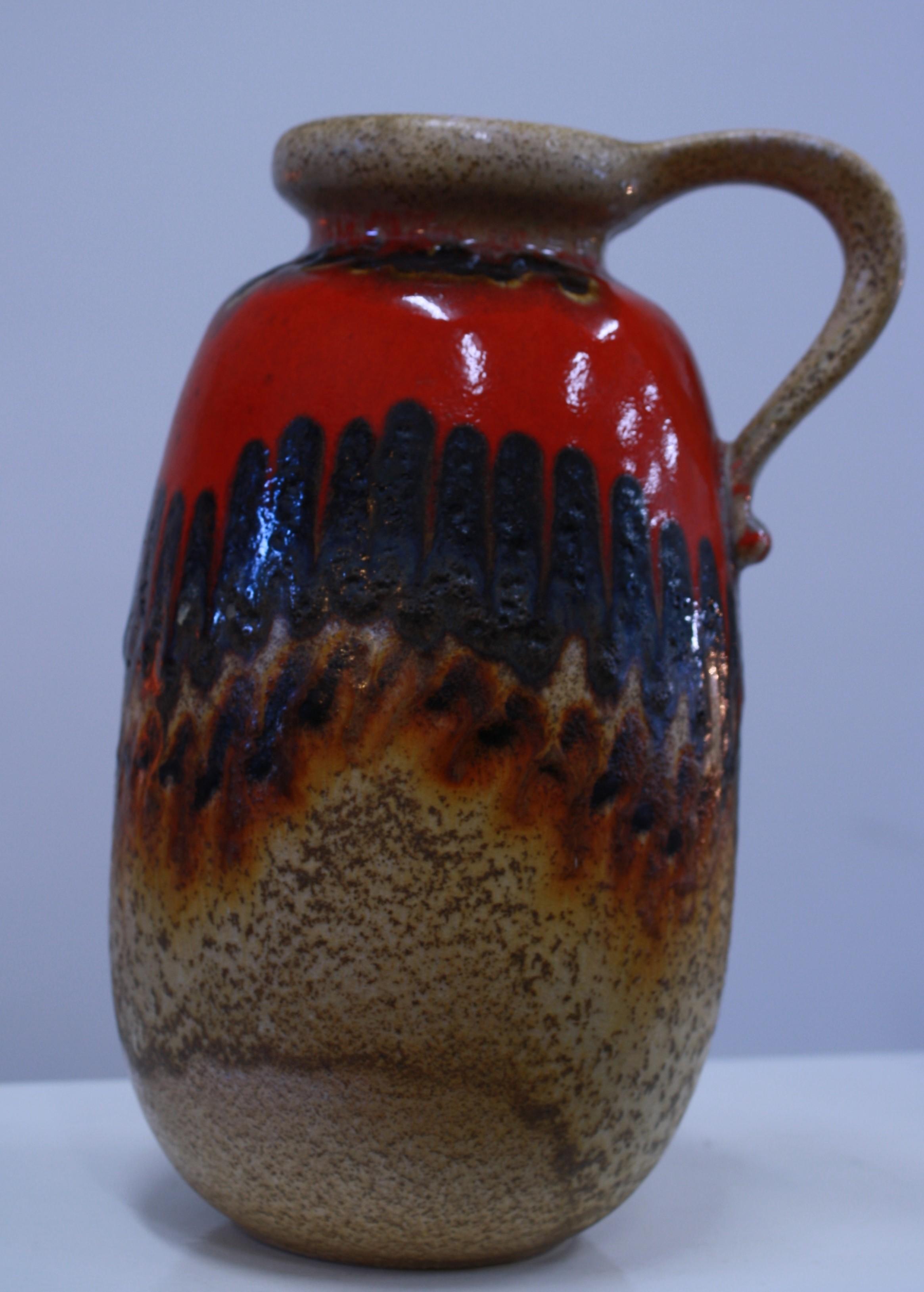 German Vase with handle