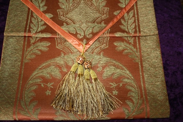 Embroidered Silk Runner