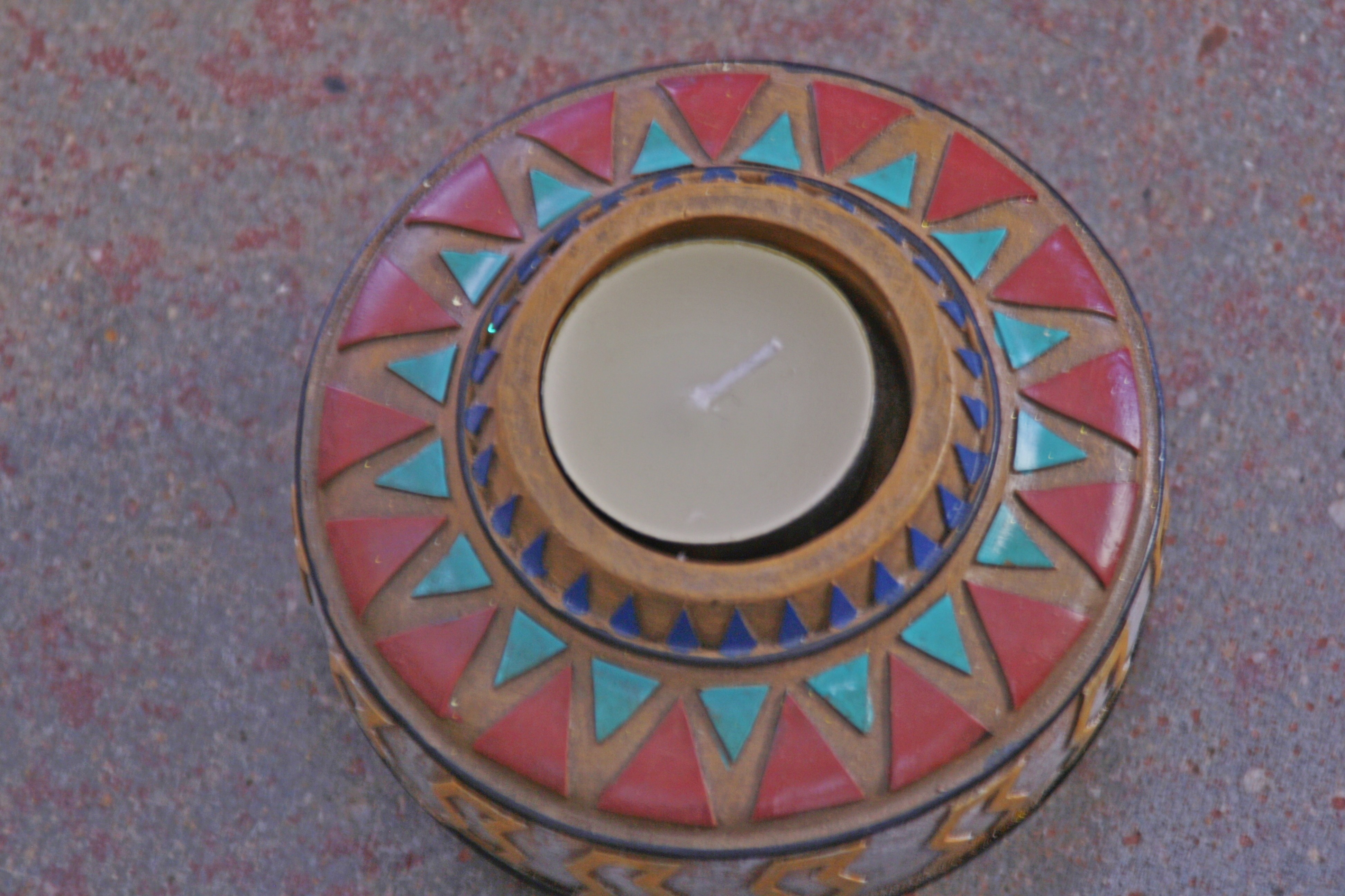 Indian tealight holder