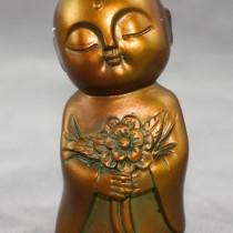 Bronze Jizo