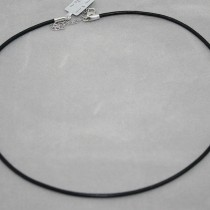 2mm diam. leather necklace