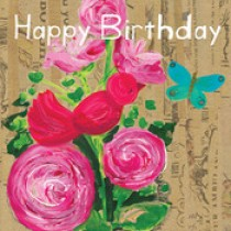 Birthday Roses Gift Card