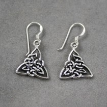 Triangle Celtic Earrings