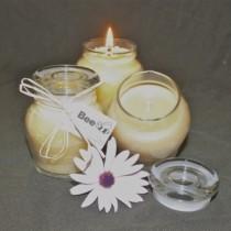 Honey Pot Beeswax Candle