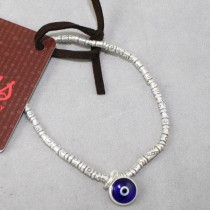 Silver and Turkish evil eye