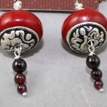 Cherry Amber and garnet