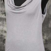 Cowl top sleeveless