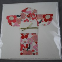 Kimono Card Flowers