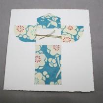 Kimono Card, Teal