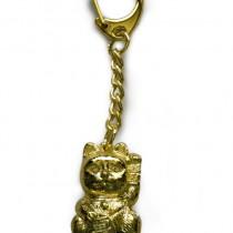 Lucky cat key ring