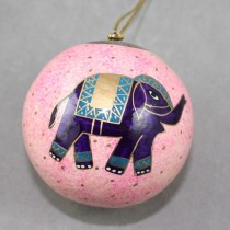 Medium bauble elephant