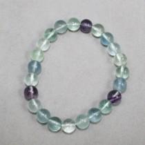 Fluorite Bead Bracelet