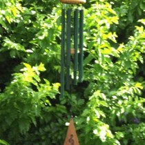 Octavia Wind Chime Blue