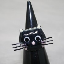 Taratata Black Cat Ring
