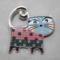 Cha Cha Cha Cat Brooch