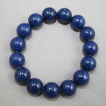 Blue gemstones bracelet