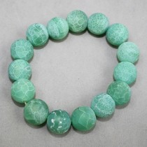 Chrysoprase coloured beads