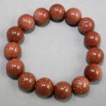 Sunstone beads bracelet