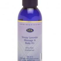Detox massage and body oil