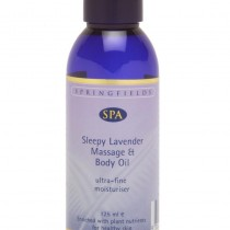 Sleepy lavender massage and body oil