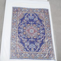 Miniature Carpet Card royal blue