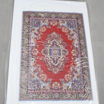 Miniature Carpet Card red
