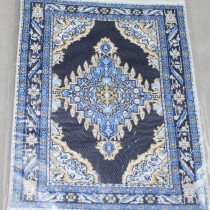 Miniature Carpet blue navy