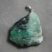 Emerald Slice Pendant