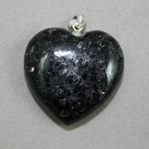 Nuumite Heart Pendant