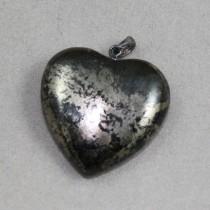 Pyrite Heart Pendant