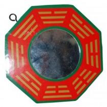 Bagwa, perspex red and green