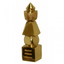 Five Element Brass Pagoda