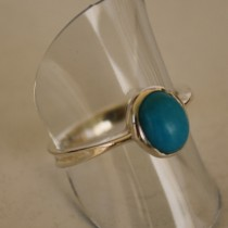 Turquoise round ring2