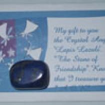 Lapis Lazuli Angel Card
