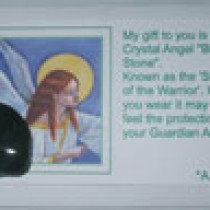 Bloodstone Angel Card