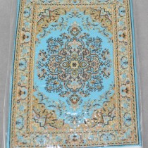 Miniature Carpet Card aqua