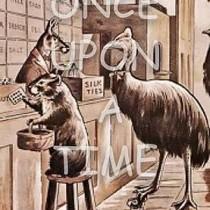 Australiana Series - Emu shopping