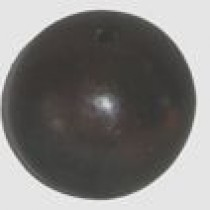 Black ball incense holder