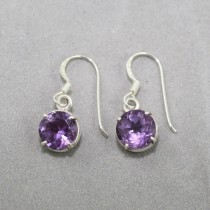 Amethyst Earrings claw