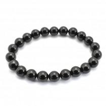 Black Tourmaline Bead Bracelet