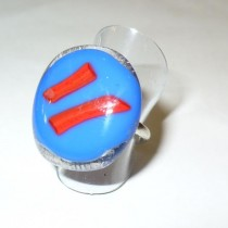 Hand-made Glass Ring