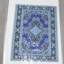 Miniature Carpet Card blues