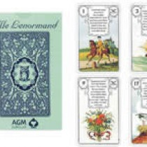 Mlle Lenormand Blue Owl Oracle Cards