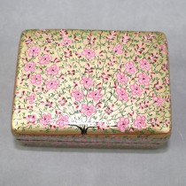 Pink and gold box