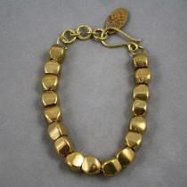 Brass Pebble Bracelet