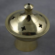 Brass holder